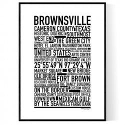 Brownsville TX Poster
