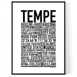 Tempe AZ Poster