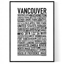Vancouver WA Poster