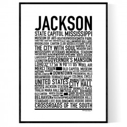 Jackson MS Poster