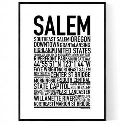 Salem OR Poster