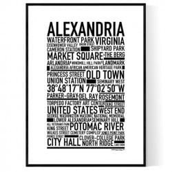 Alexandria Poster