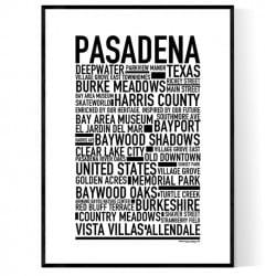 Pasadena TX Poster