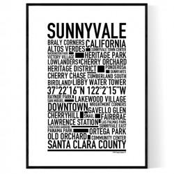 Sunnyvale Poster