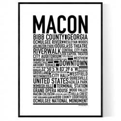 Macon GA Poster
