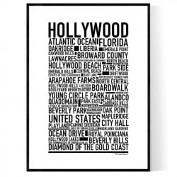 Hollywood FL Poster