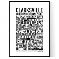 Clarksville TN Poster
