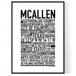 McAllen Poster