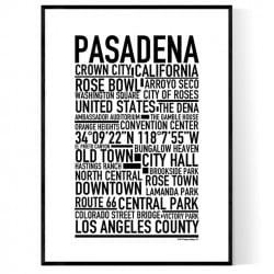 Pasadena CA Poster