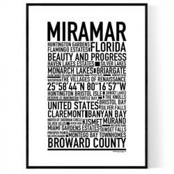 Miramar FL Poster