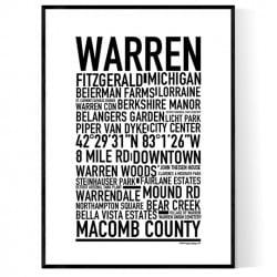 Warren MI Poster