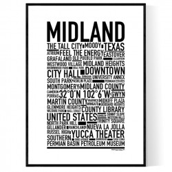 Midland TX Poster