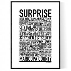 Surprise AZ Poster