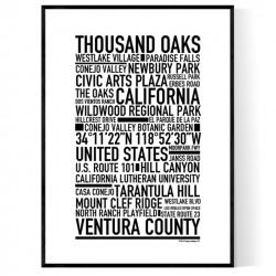 Thousand Oaks Poster