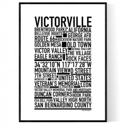 Victorville Poster