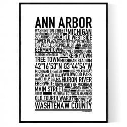 Ann Arbor Poster