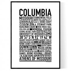 Columbia MO Poster
