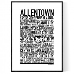 Allentown PA Poster