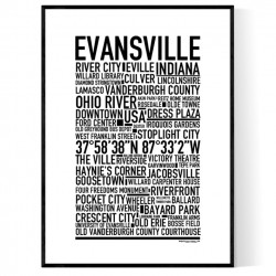 Evansville IN Poster