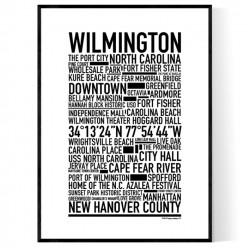 Wilmington NC Poster