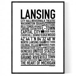 Lansing Poster