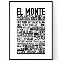 El Monte Poster