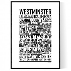 Westminster CA Poster