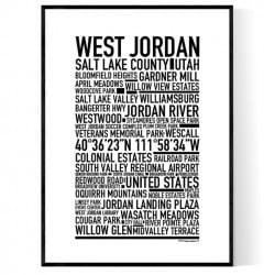 West Jordan Poster