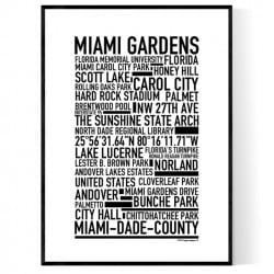 Miami Gardens Poster