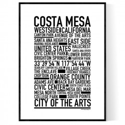 Costa Mesa Poster