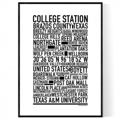 College Station Poster