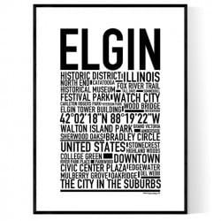 Elgin Poster