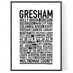 Gresham Poster