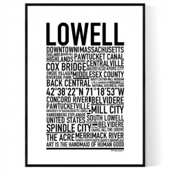 Lowell Poster