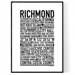 Richmond CA Poster