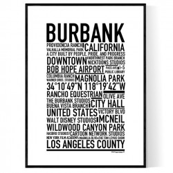 Burbank Poster