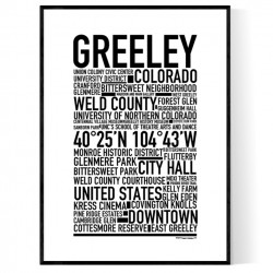Greeley Poster