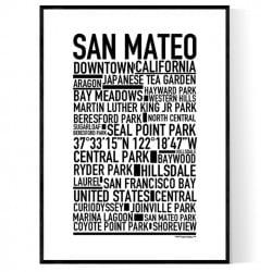 San Mateo Poster