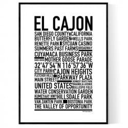 El Cajon Poster