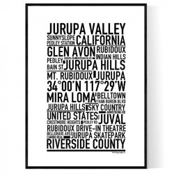 Jurupa Valley Poster