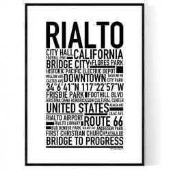 Rialto Poster