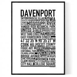 Davenport Poster