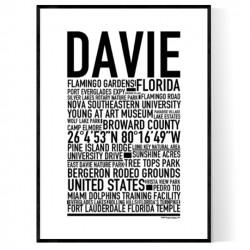 Davie Poster