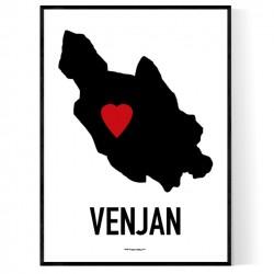 Venjan Heart Poster