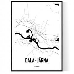 Dala Järna Karta Poster