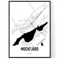 Mockfjärd Karta Poster