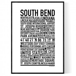 South Bend Poster