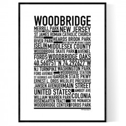 Woodbridge NJ Poster