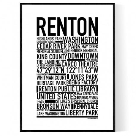 Renton Poster
