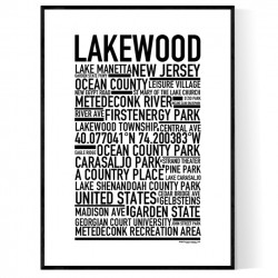 Lakewood NJ Poster